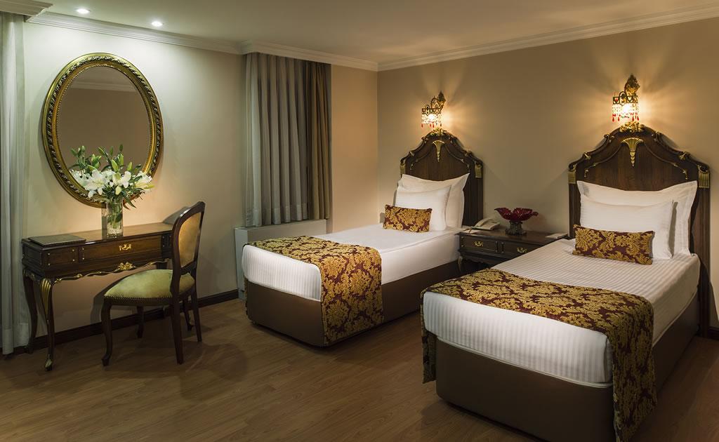 HOTEL İÇKALE :: Connection Odalar