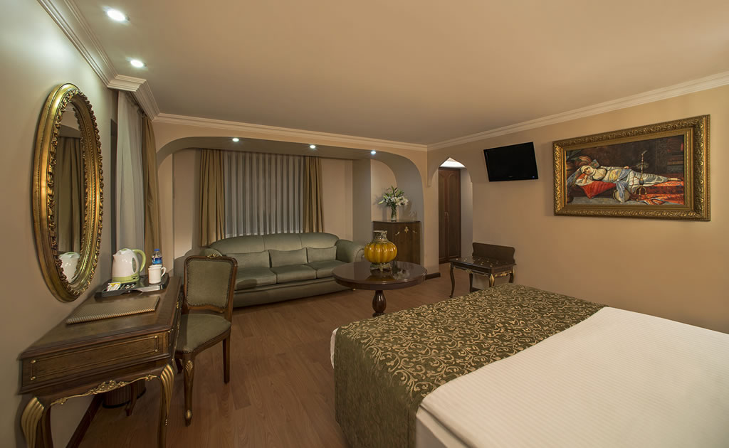 HOTEL İÇKALE :: Junior Suite Odalar