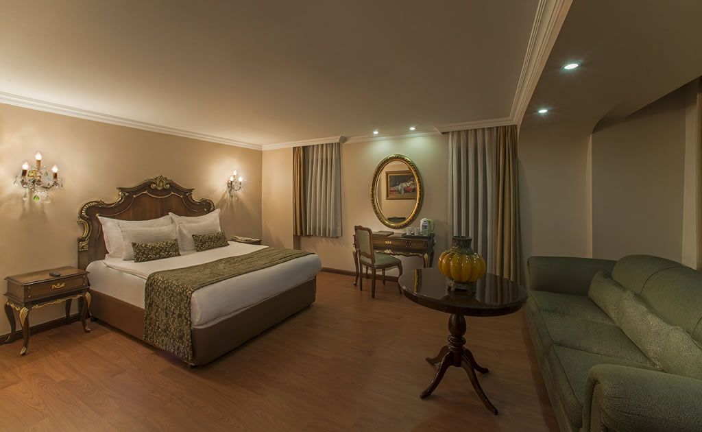 HOTEL İÇKALE :: Junior Suite Rooms