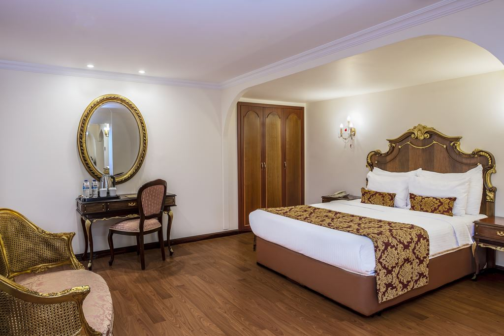 HOTEL İÇKALE :: Suite Rooms